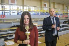 Anna Winter Mistrzynią Podkarpacia w szachach błyskawicznych