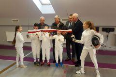Nowoczesna sala szermiercza otwarta w Krośnie